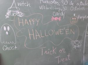 Halloween party vocab