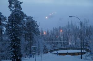 Luosto, Finland.
