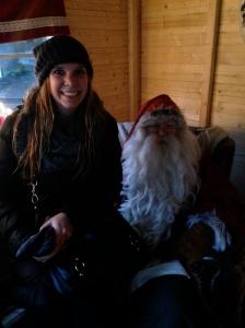 one of many Santa's I met in Finland.