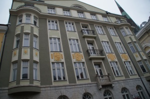 This building is now stylish apartments, but before it was KGB HEADQUARTERS.