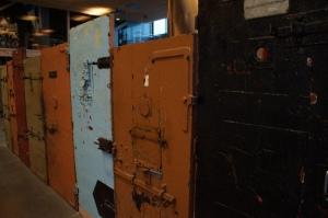Real prison doors