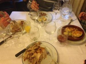 FEAST OF MEAT EN EL BOTIN!