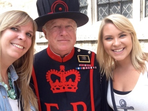 #selfie with the Beefeater