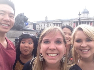 Another #selfie in front of the British Museum.