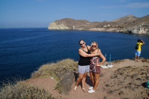 At the Red Sand beach!