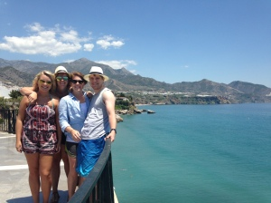I got to join the crew to Nerja!