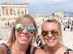 #selfie at the Acropolis