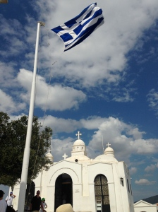 This chapel can be see from the Acropolis!!!