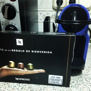 BIG PURCHASE: my Nespresso machine.  My life is now complete.