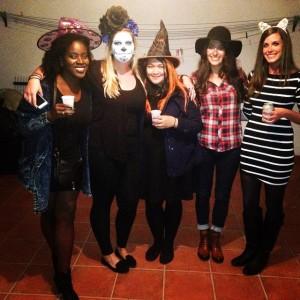 Celebrating Halloween American style!