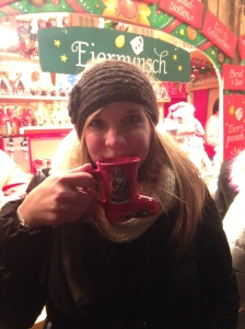 Mulled wine really wasn't my cup of tea...