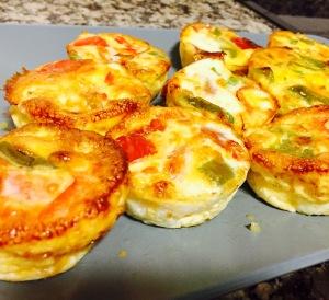 Homemade egg muffins