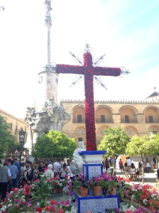 One of the many crosses around the center of Cordoba.