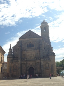 This is one of many churches in Úbeda.
