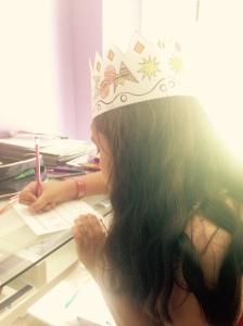 Birthday crowns for birthday girls!