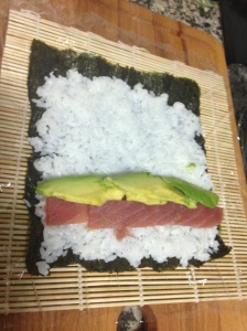 We even went as far as to learn how to make our own sushi!